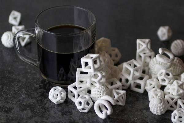 Сахар напечатанный на 3D-принтере ChefJet