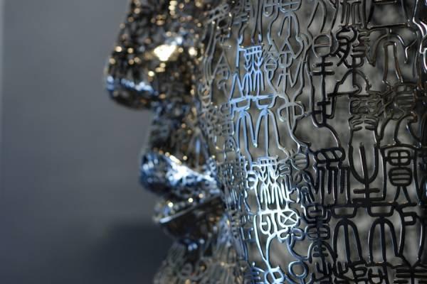 Стальные скульптуры из китайских иероглифов: творчество Чжэн Лу (Zheng Lu)
