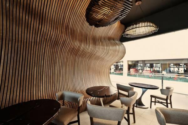 Креативный интерьер кофейни Don Cafe House в Приштине