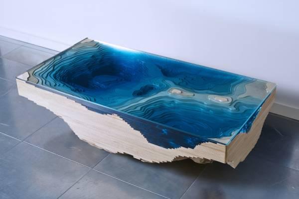 "Уникальный стол ""The Abyss"" от Duffy London"