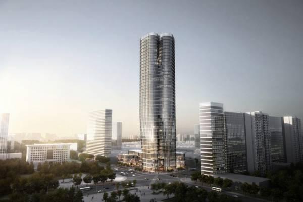 Проект 180-метровой Башни Urban Systems Office переопределяет Банк Китая