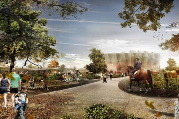 Graft Architects показала финальный вариант нового парка в Мюнхене