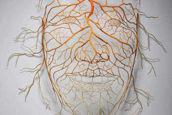 Настенная скульптура художника из Кореи Sun Hyuk Kim