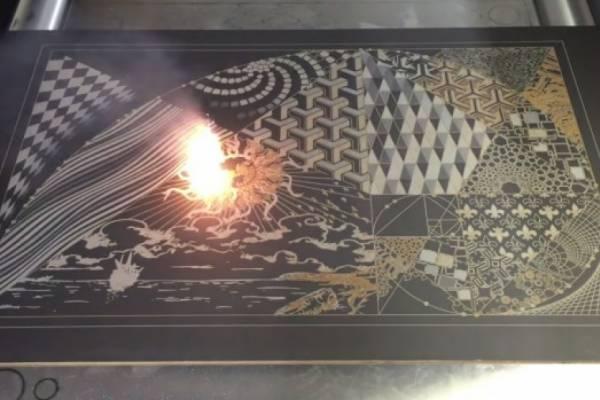 """Современное лазерное искусство (""""Laser Art"""") от компании LasX Industries"""