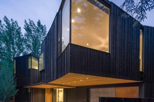 Will Bruder Architects построила современную резиденцию в горах Аспена