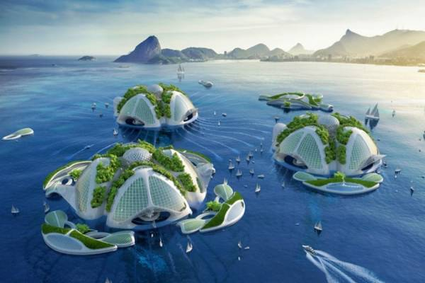 """Винсент Каллебо (Vincent Callebaut) представил новый экологический проект """"AEQUOREA"""""""