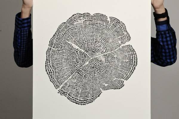 "Картина под названием ""Дерево жизни"" (Tree of Life)"