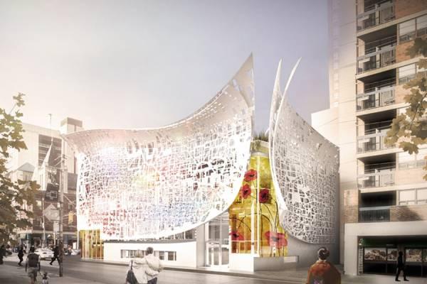Bortolotto показала план «Павильона Розали Шарп» в Торонто