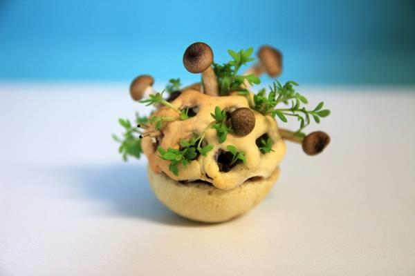 Edible Growth - 3D-закуски от дизайнера Хлое Руцервельд (Chloe Rutzerveld)