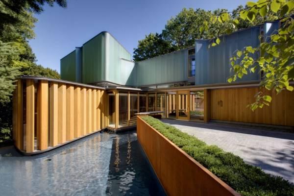Integral House – уютная вилла в Канаде