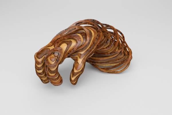 3d скульптуры от дизайнеров NastPlas