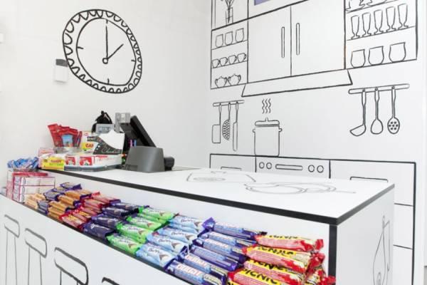 Дизайн магазина сладостей Candy Room от Red Design Group