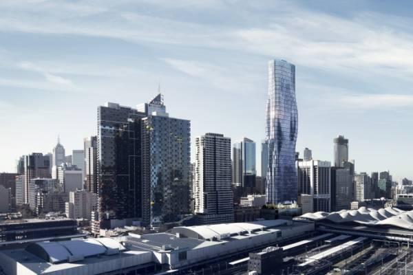 Изгибы Бейонсе вдохновили Elenberg Fraser на дизайн небоскреба в Мельбурне