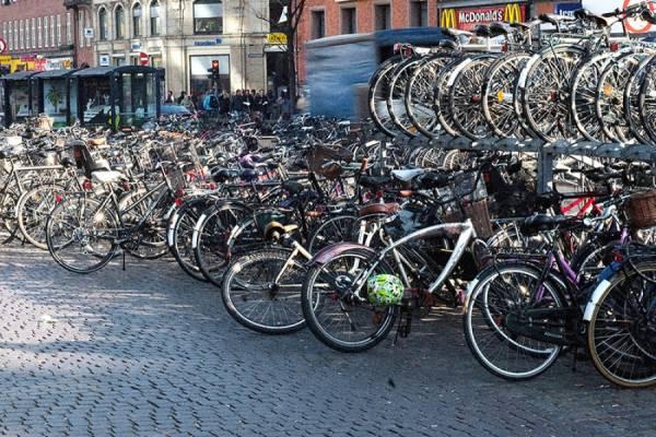 Как Копенгаген стал раем для велосипедистов