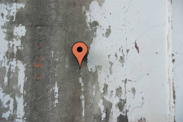 Метка google maps как опознавательная иконка для мест проживания птиц