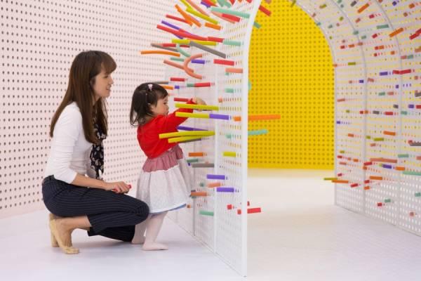 """Интерактивная площадка для детей """"TUBO"""" от компании Mathery Studio"""
