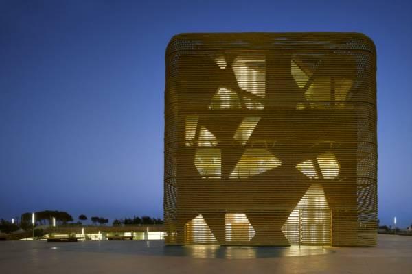 Дворец выставок и конгрессов от Pancorbo Arquitectos