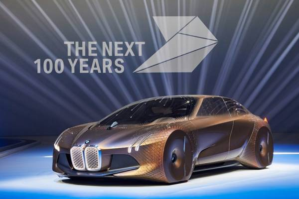 BMW Vision Next 100 - новый концепт-кар
