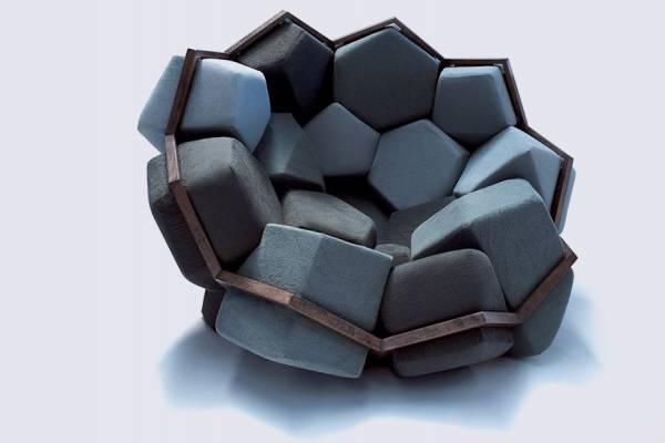 Модульное кресло Quartz от CTRLZAK Art & Design