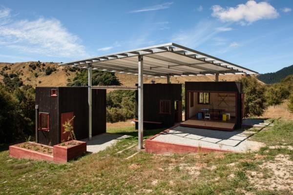 Среди красочного пейзажа Новой Зеландии открылось экоубежище