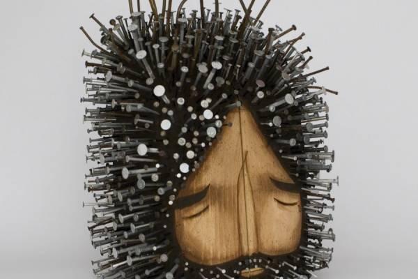 Скульптуры из гвоздей от дизайнера Jaime Molina