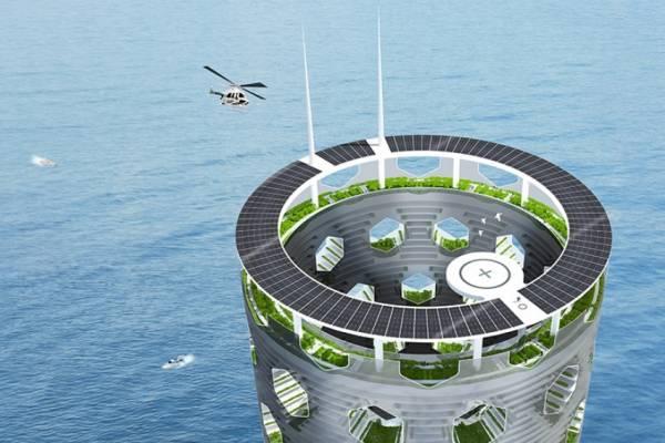 Luca Curci Architects разработала дизайн модульного небоскреба