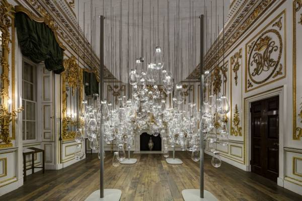 Арт-проект из сотен лампочек от дизайнеров из Вены Mischer'Traxler