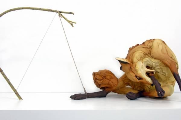 Эмоциональные скульптуры животных от Beth Cavener