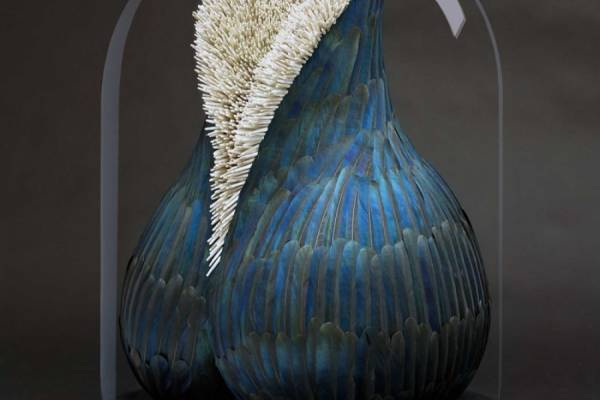 Потрясающие скульптуры из перьев от Кейт Маккгваер (Kate MccGwire)