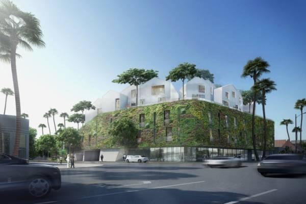 MAD Architects поделилась планом дизайна виллы в Беверли-Хиллз