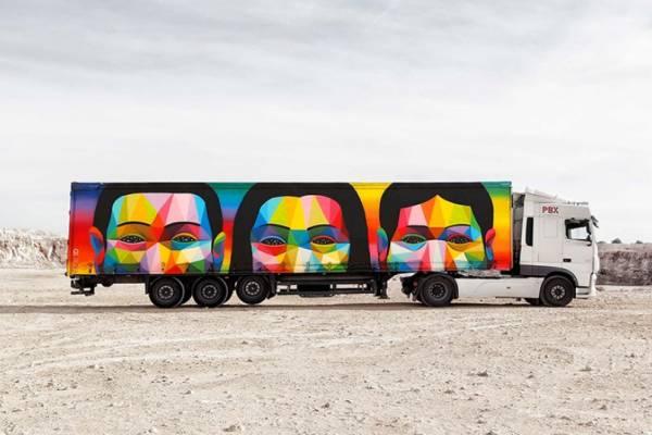 Современное искусство на магистралях Испании