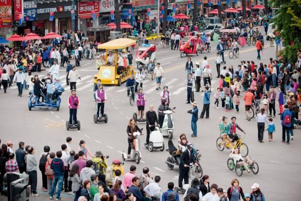 «Фестиваль экомобильности», или отказ от авто на месяц