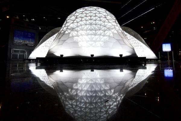 Крупнейшая в мире архитектурная конструкция VULCAN, построенная с помощью 3D-печати