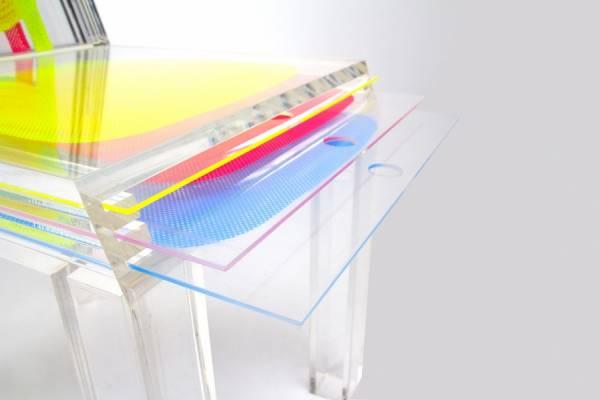 Многослойный стул дизайнера из Южной Кореи Союн Юн (Sohyun Yun)