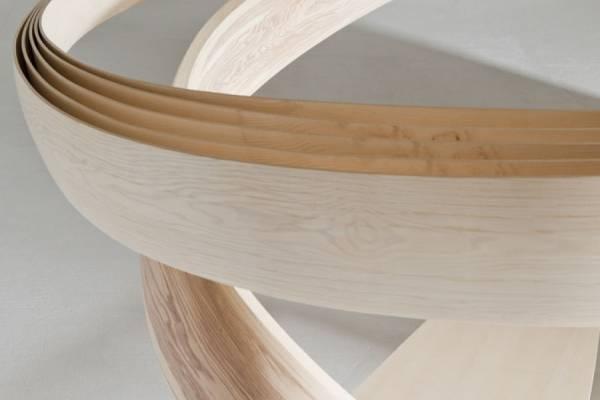 Инсталляция из гибкого дерева от Джозефа Уолша(Joseph Walsh)