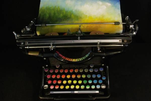 Цветная печатная машинка Тайри Каллахан (Tyree Callahan)